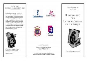 8 de marzo 2016 folleto PORTADA