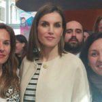 Profesoras de San Clemente en los Premios educativos de la Fundación Princesa de Girona. Reina Letizia