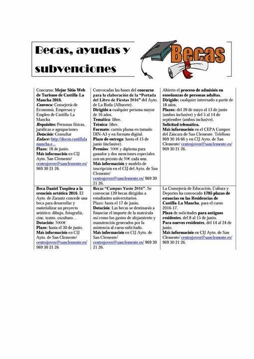 Info Joven San Clemente 3