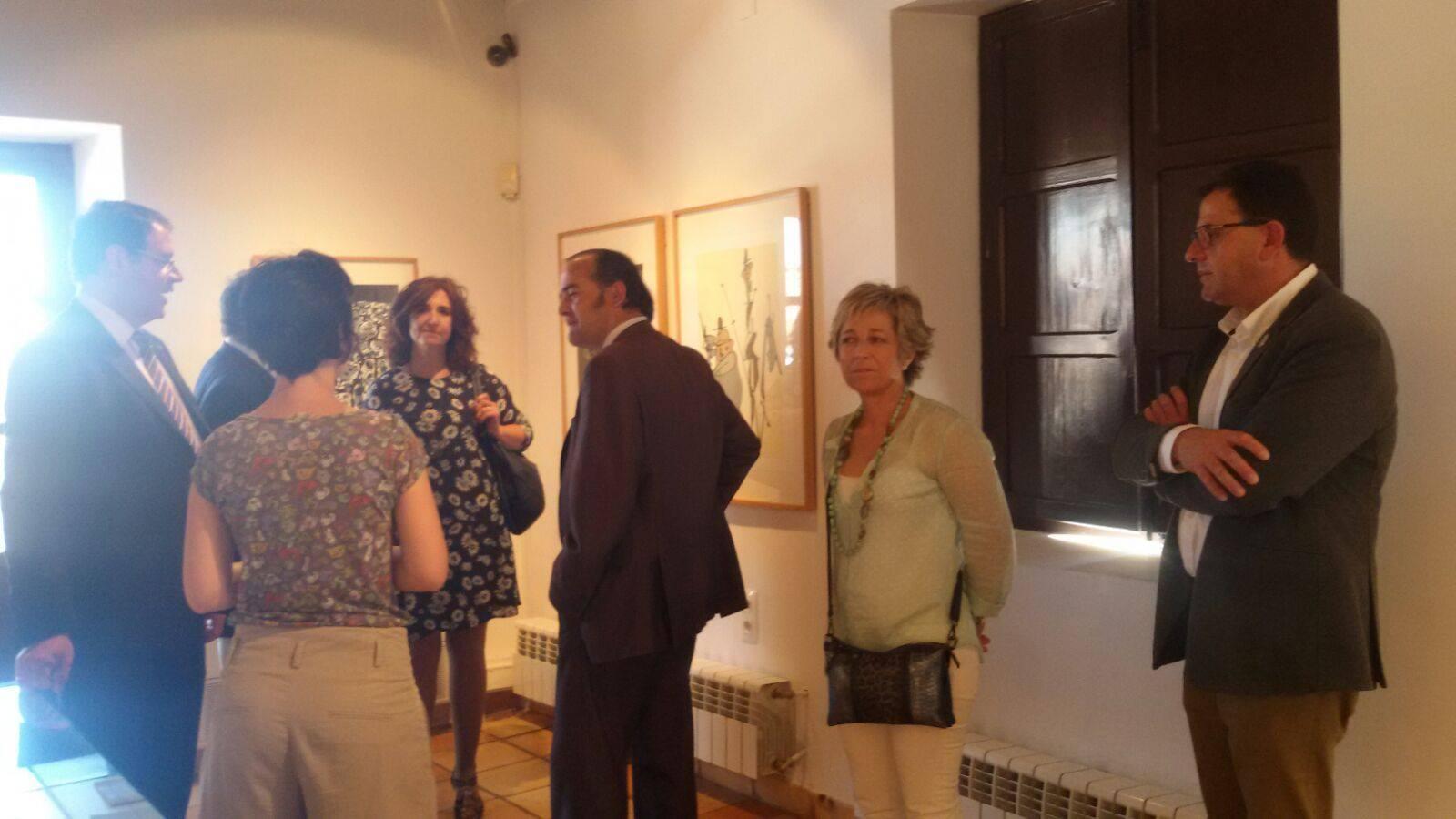 Visita San Clemente Del. gobierno, presidente Diputación de Cuenca 3