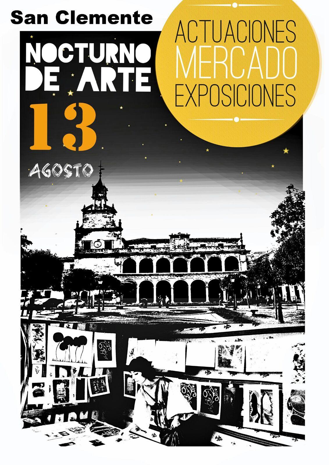 mercado de arte nocturno 2