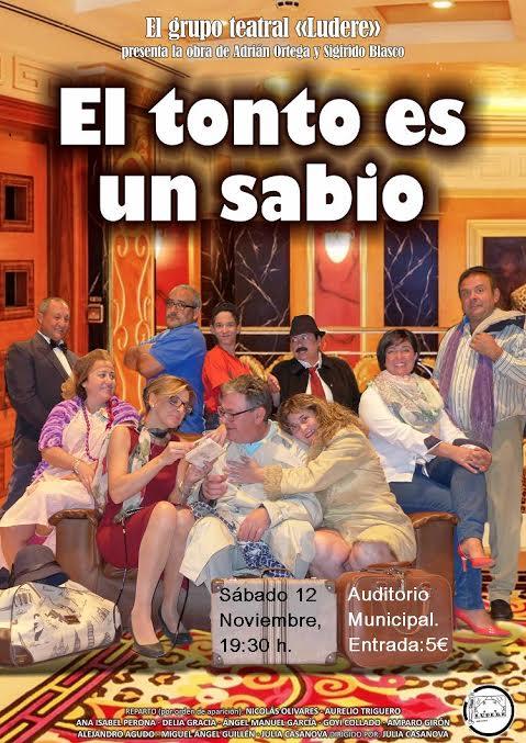 """Teatro """"El sabio es un tonto"""""""
