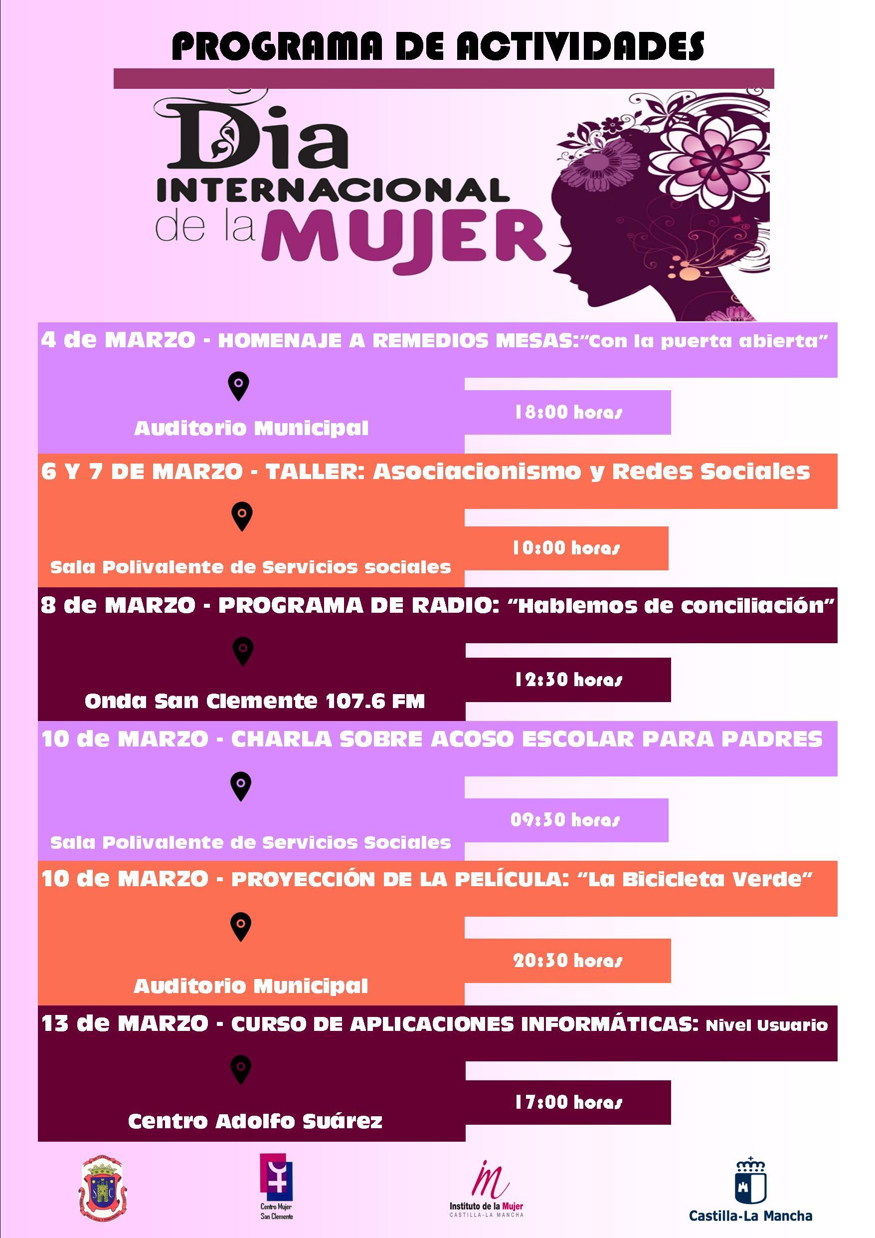 cartel 8 Marzo