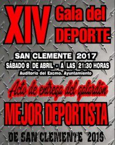 cartel gala deporte 2017