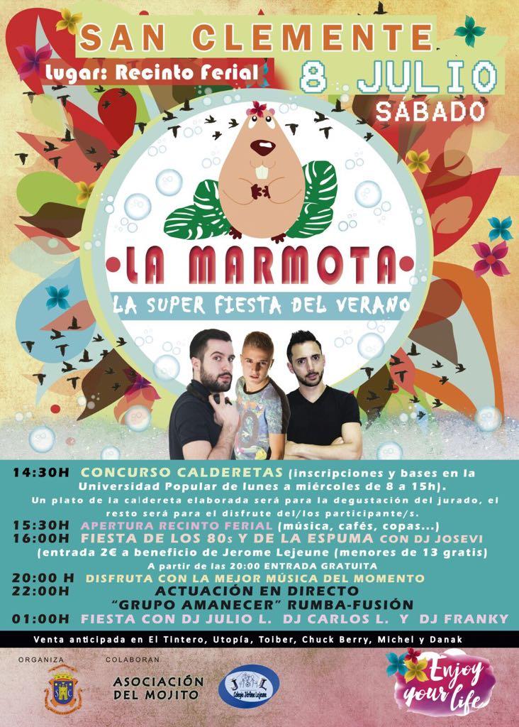 Fiesta de 'La Marmota'