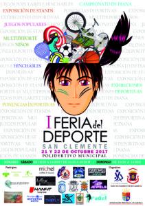 CARTEL Feria del Deporte 2017