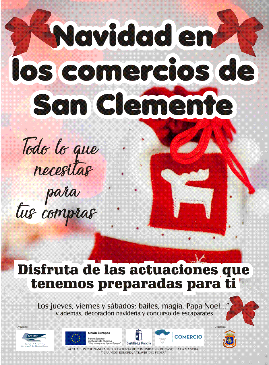 cartel campaña comercios