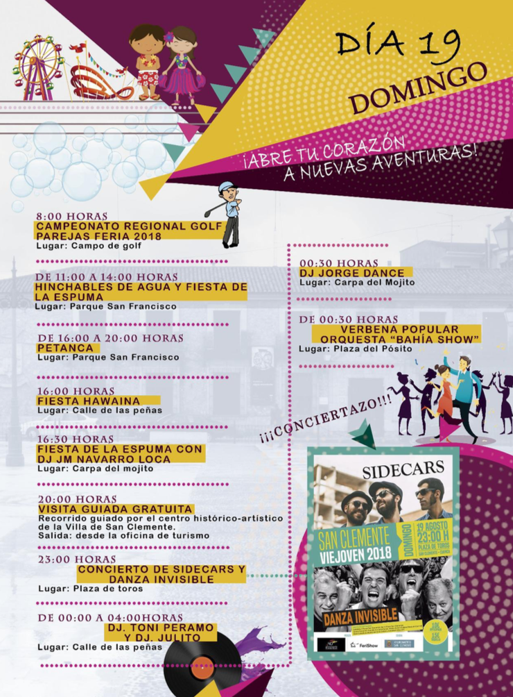 Feria Y Fiestas En San Clemente Domingo Ayuntamiento De San Clemente